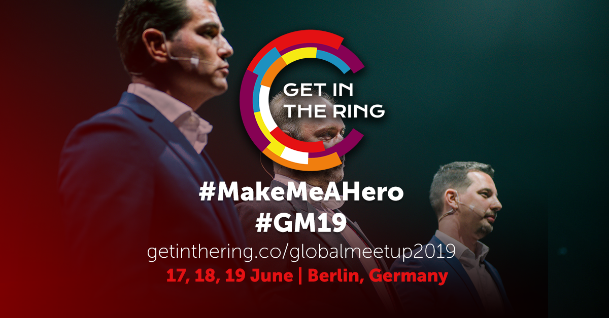 Get in the Ring Global Meetup 2019